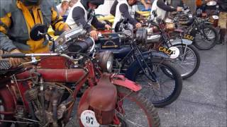 2016 Cannonball Run of Vintage Motorcycles Leg 2 Start