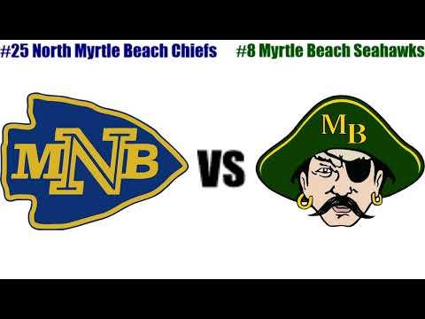 Boys High School Basketball - North Myrtle Beach Chiefs Vs. Myrtle Beach Seahawks - 2/7/2020