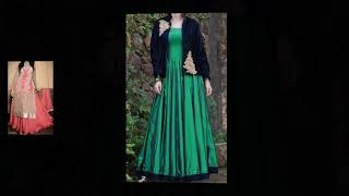 Winter #party dresses / #new year party #dress ideas for ladies / #ethnic fashion dresses