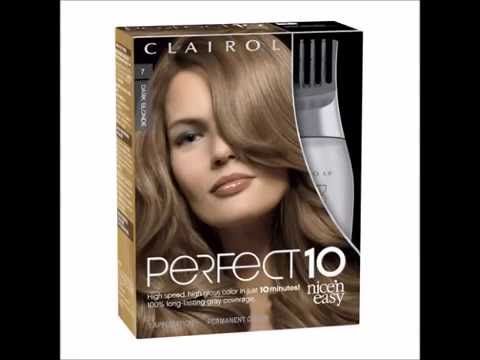 Clairol Nice N Easy Perfect 10 Permanent Hair Color 007 Dark Blonde 1 Ea You
