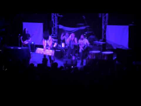 hysteria band full set may 1st at the Odeon cleveland (spider) 5/1/15