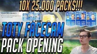 FIFA 15 ULTIMATE TEAM 10X 25K PACKS!! WANN SIND DIE SPIELER AM BILLIGSTEN?[FACECAM]TOTY PACK OPENING