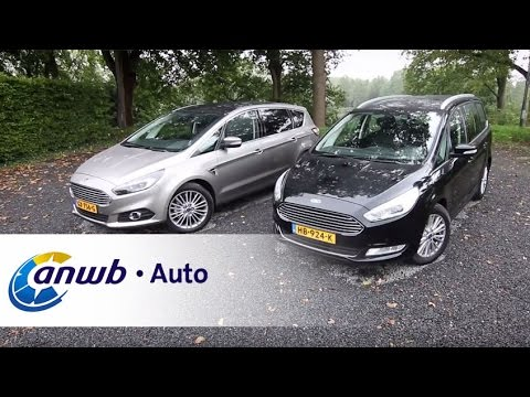 Ford Galaxy vs Ford S-Max 2015 dubbeltest - ANWB Auto