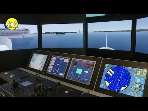 STCW95 Maritime training courses - Polaris ships bridge simulator - Diverso Impex