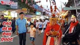 Thầy Trò Đường Tăng Tôn Ngộ Không Và Trư Bát Giới Đang Check In Ở Chợ Đêm Phú Quốc   NKGĐ