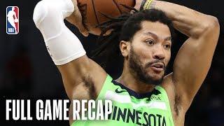 WIZARDS vs TIMBERWOLVES   Washington & Minnesota Battle In Overtime!   March 9, 2019