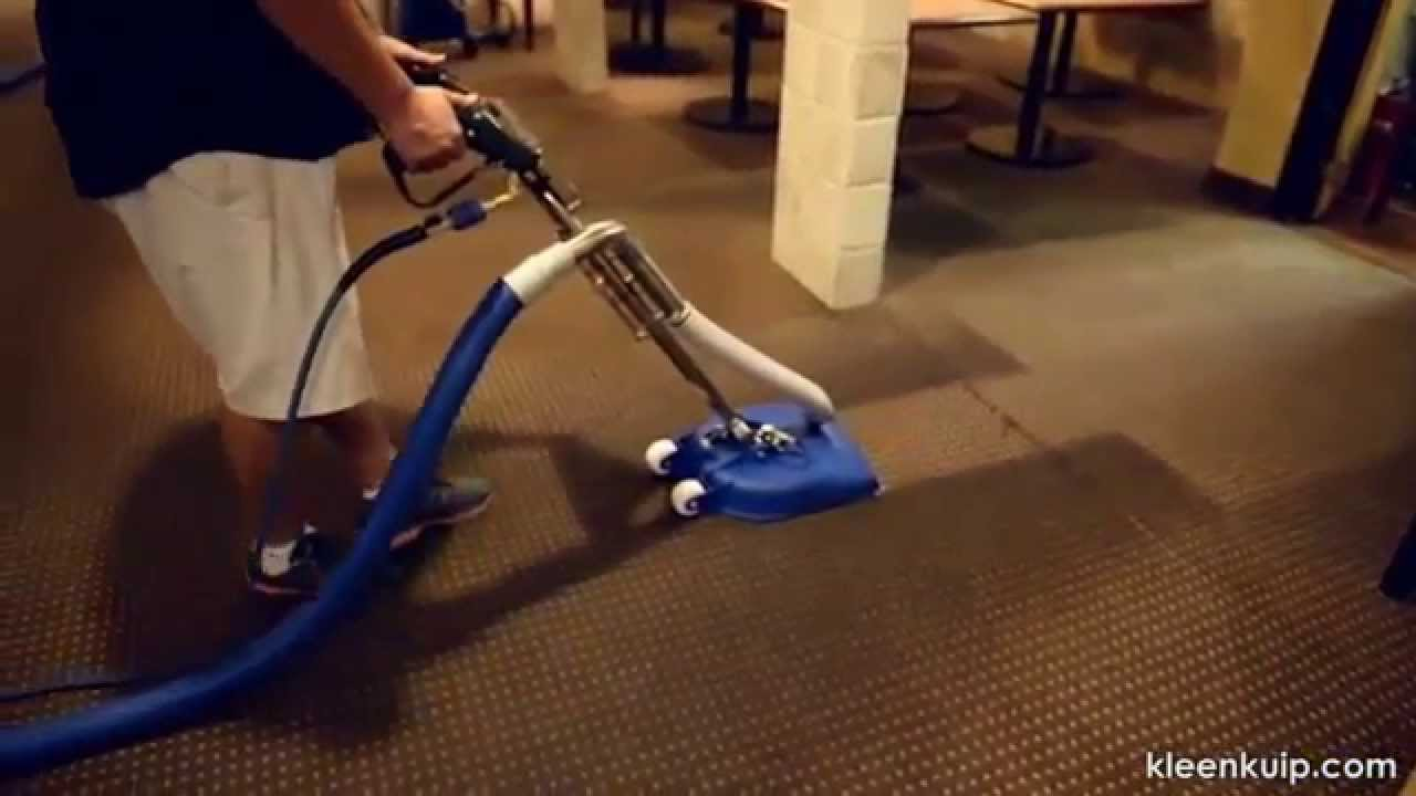 Carpet Cleaning Tool Hydro Force Cx 15 In Use Youtube