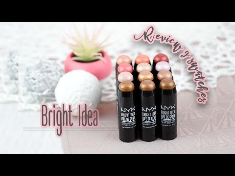 -BRIGHT IDEA OF NYX COSMETICS- Review y Swatches