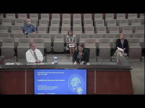 WashCo Commissioners Meeting - July 14, 2020