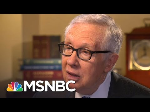 Harry Reid On Hates Crimes Since Election, Donald Trump's Presidency (Exclusive) | All In | MSNBC