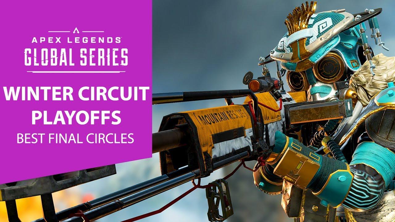 ALGS Winter Circuit Playoffs  - Best Final Circles NA & EMEA   Apex Legends