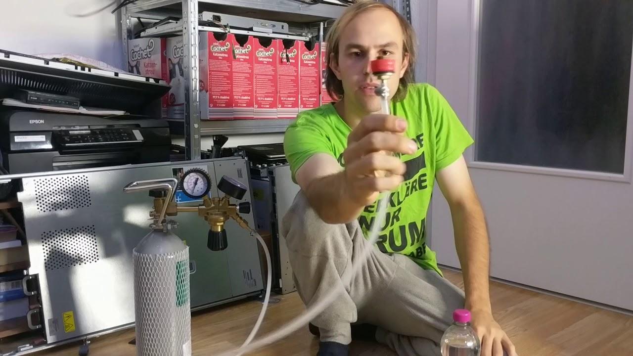Wassersprudler Im Eigenbau Einfach Und Günstig Youtube