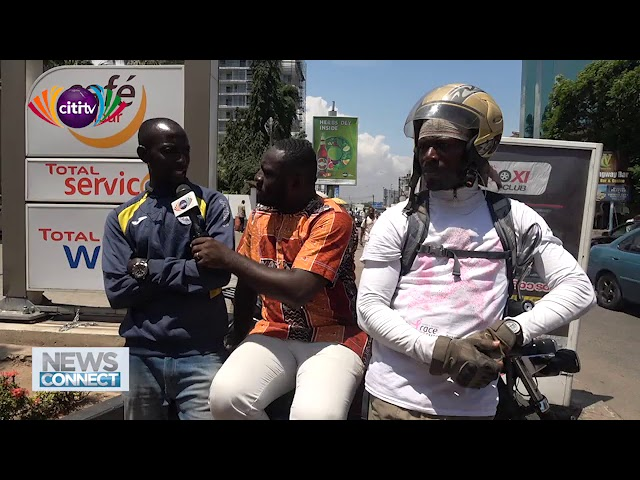 Okada riders in Ghana plead with government to legalise their business