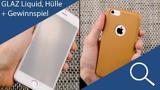 Unsichtbarer Displayschutz! GLAZ Liquid und Hülle für's iPhone 6(s) Review - KCINTECH