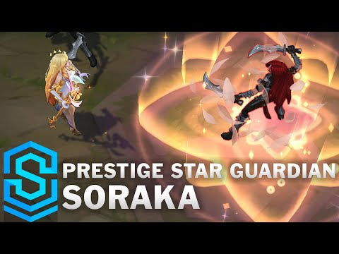 Prestige Star Guardian Soraka Skin Spotlight - Pre-Release - League of Legends
