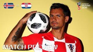 Dejan Lovren (Croatia) - Match 40 Preview - 2018 FIFA World Cup™