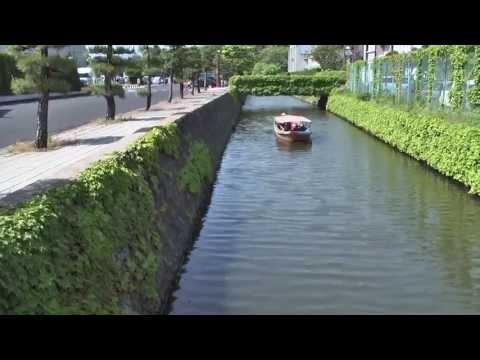 松江城と堀川遊覧