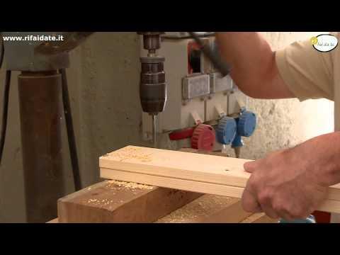 Come costruire un tavolo in legno parte 1