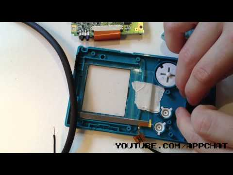 front light gameboy color mod tutorial the first video tutorial on how