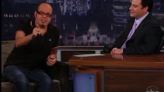 David Cross Talks About Trying Crack @ Jimmy Kimmel Live (2009)