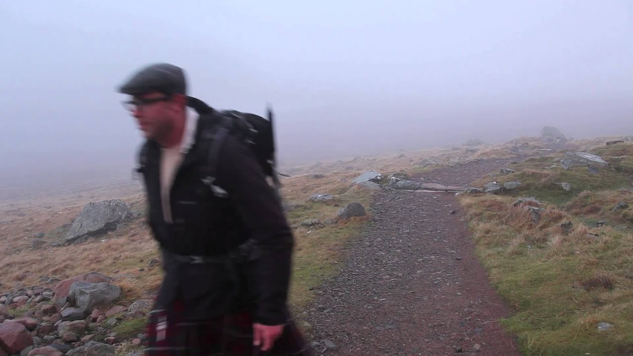 Hiking Scotland in a Kilt