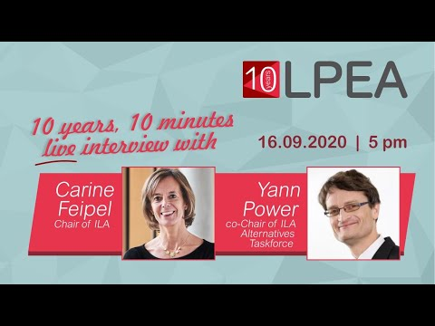 10 Years 10 minutes with Carine Feipel & Yann Power, ILA
