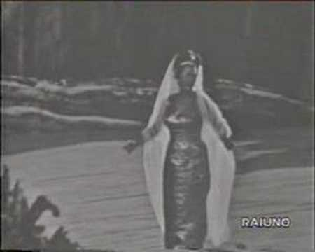 Leyla Gencer - Aida - O Patria Mia