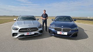 Mercedes-Benz E-Klasse VS BMW 5 Series - UPOREDNI TEST NA STAZI NAVAK