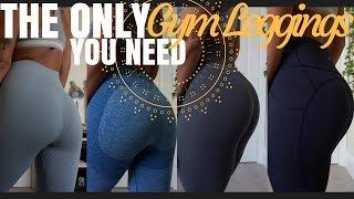 THE BEST GYM LEGGINGS | Lululemon, Gymshark + Merakilo