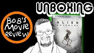 Alien: Covenant 4K Steelbook Unboxing ( Best Buy )