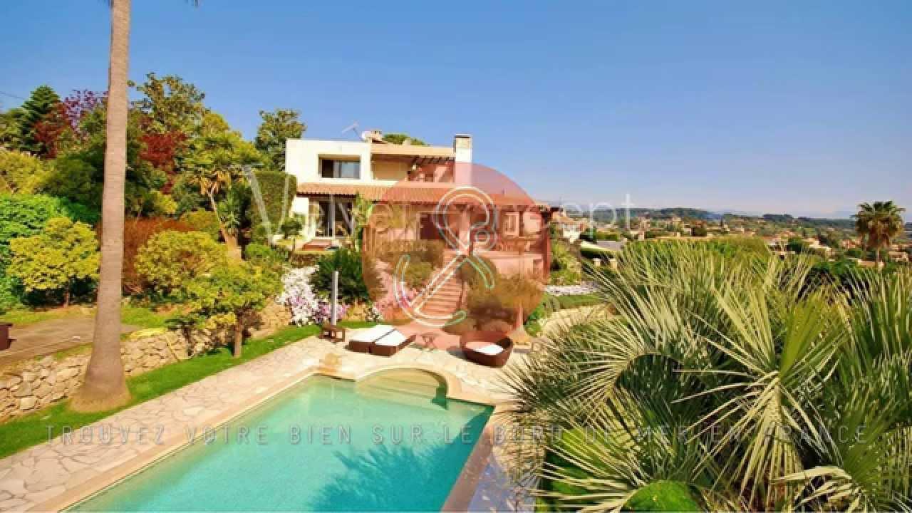 villa d 39 architecte vue mer cap d 39 antibes 06220 youtube. Black Bedroom Furniture Sets. Home Design Ideas