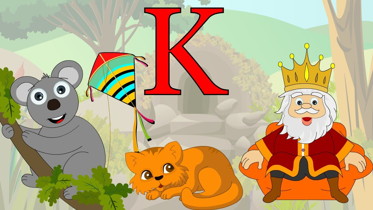 learn about the letter k preschool activity youtube