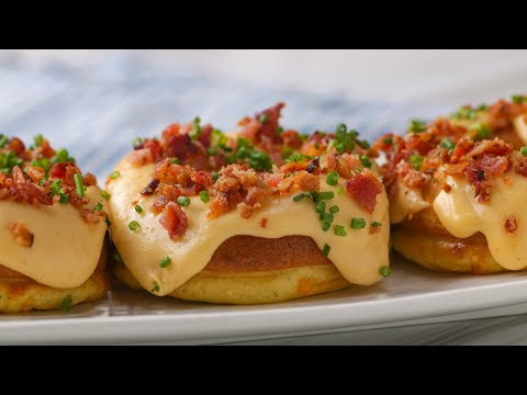Bacon, Egg, and Cheese Donuts •Tasty