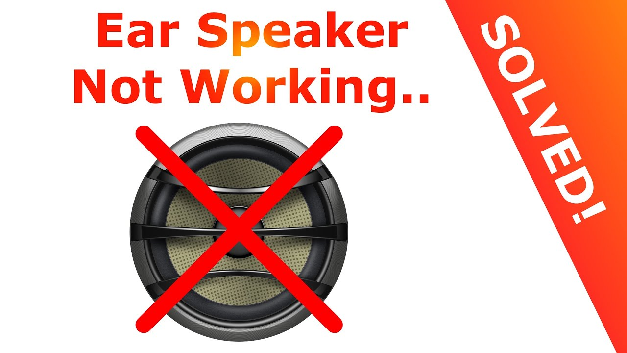 iphone speaker not working iphone ear speaker not working solved easy solution 2586