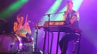 Matt & Kim - Lessons Learned (Live @ Heaven, London, 28/05/15)