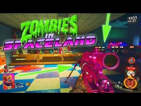 COD INFINITE WARFARE ZOMBIE SPACELAND ! - Pack A Punch, Easteregg & mehr