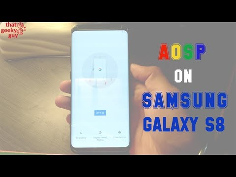 AOSP|Lineage OS For Galaxy S8|S8+ : First Look
