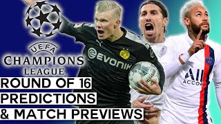 Champions League 2019-20 Round of 16 Predictions and Previews  All Matchups