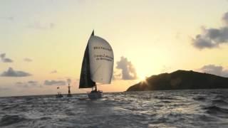 Qui est le co-skipper de  Sébastien SIMON sur la Transat AG2R ?