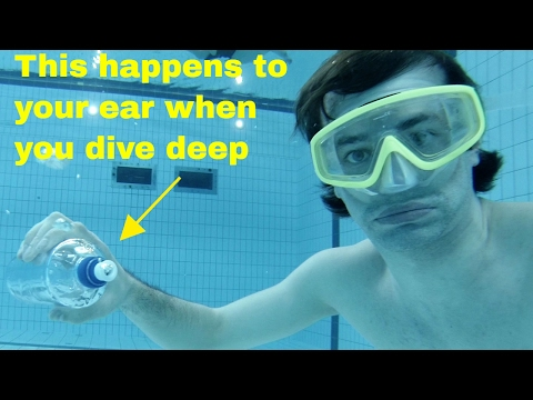 How to Swim Deep In the Pool Without Hurting Your Ears