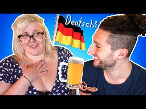 Americans Trying To Speak German // Amerikaner Sprechen Deutsch