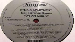 Studio Apartment -- We Are Lonely (Quentin Harris Vocal Mix)