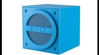 iHome iBT16 Bluetooth Rechargeable Mini Speaker Cube