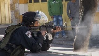 Rioting Arabs Attack Israel Security Forces in Hevron, Elsewhere