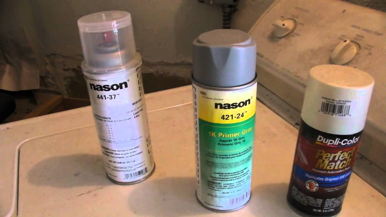 Where Can I Find Spray Paint Krylon Colormaster Ivory