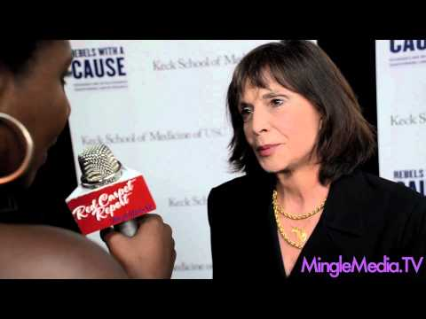 Talia Shire at the Rebels with a Cause Gala
