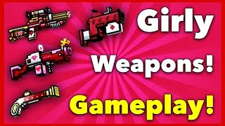 Pixel Gun 3D - Girly Weapon Gameplay!