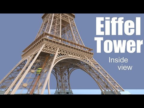 What's inside of the Eiffel Tower?
