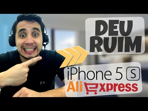 UNBOXING iPhone 5S 32GB do AliExpress / PASSEI NERVOSO!! - Watch Lopes
