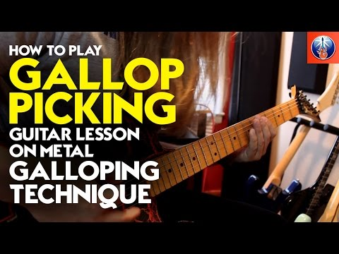 How to Play Gallop Picking - Guitar Lesson on Metal Galloping Technique